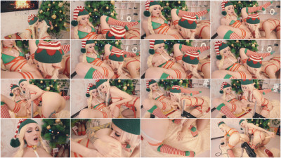 X-Mas Pussy Anal Fuckmachine — Sia Siberia — Full HD 1080p