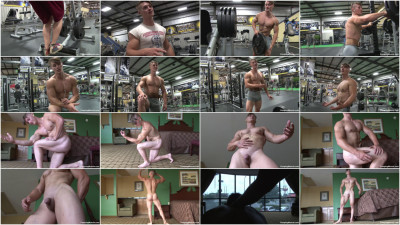Pumping Muscle Roger M Photo Shoot 4 HD