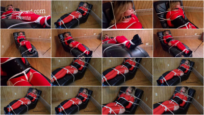 SBound — Lisa Scott.. Red Spandex Captive Part 2