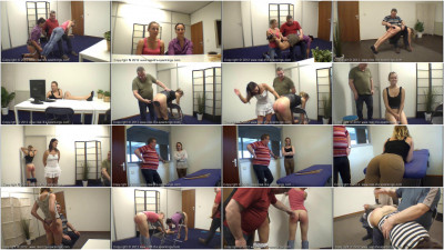 Real Life Spankings Video Collection 1