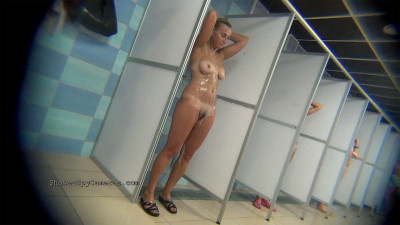 Download Real public showers with hidden cam set inside