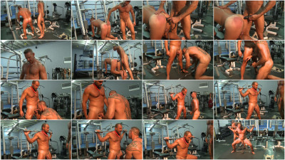 Bound Muscle - Gym Training Torture Part 8