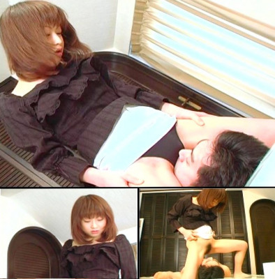 Download Japanese facesitting by beautiful girl who pisses on mouth of man - Femdom Gammen Kijou Onanie