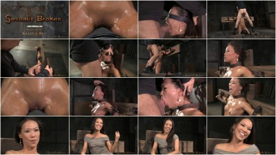 SexuallyBroken - Jun 17, 2015 - Natural born sexbot Kalina Ryu throatboarded