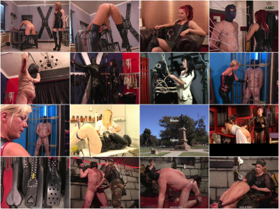 Latex And Rubber Domination Video Collection Part 2