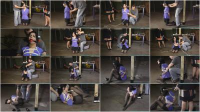 Futilestruggles DA Hannah Perez Captured, Bound, and tormented By 2 Parolees - Part 1