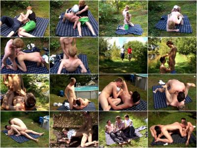 Bareback Sluts Get Slammed vol.3 UK Teens Outdoors