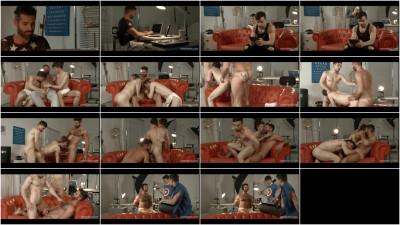 Knock Knock - A Gay Porn Parody (Dani Robles, Josh Milk, Ruben)