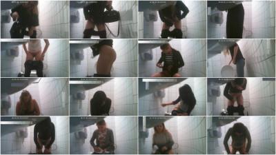 Hidden camera in the student toilet Part 5 (2018)