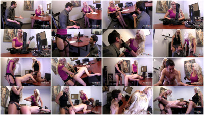 Gigi Allens, Holly Heart - Strap-On Sexual Harassment