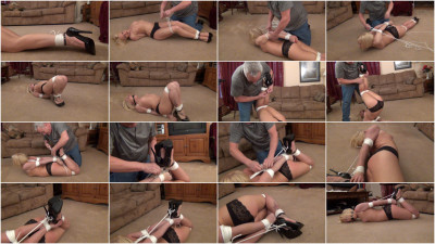 Naughty Emi in Her First US Hogtie