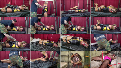 Fayth On Fire - Ultimate Leather Hogtie