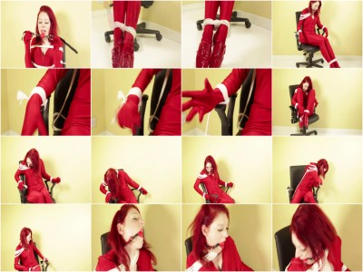 Scarlet in Red Chair