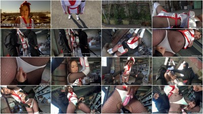 Maria Ono is the prisoner of two ninjas FullHD 1080p