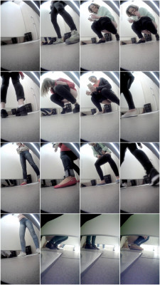 Hidden camera in the student toilet part 238 (2018)
