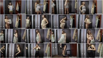Modeling Dresses At 38 weeks Pregnant