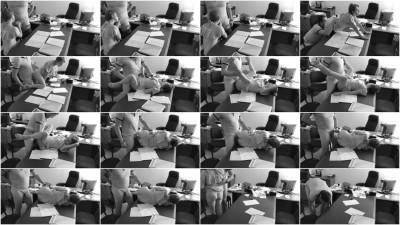 Hidden camera in the office