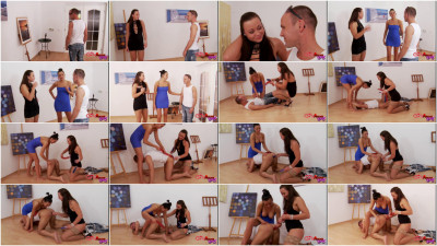 Girls Abuse Guys - Rockstar In The Gallery