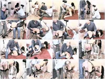 English spanking Classics #45 Camera Club Caning