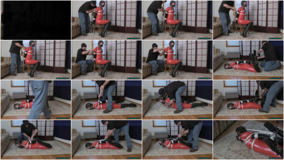 Rachel Adams – Tied And Muzzled In Wedge Boots Pt2