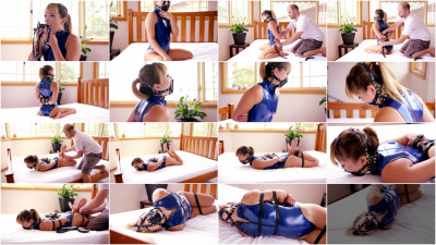 Black Panel Gag, Belts & Realise Swimsuit