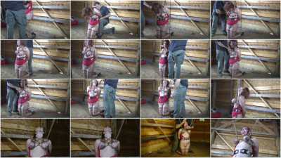 Barnyard Bondage for Riley Jane - Her Ordeal Continues - Part 2