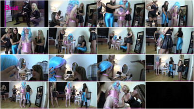 Sister And Friend Turn Brother Into Sissy
