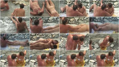 Peeped at the beach 23 - Voyeur, Nudism HD