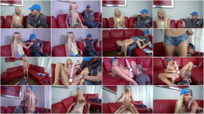 Hot Blonde Teen Kenzie Reeves First Ever Porn Scene — FullHD 1080p