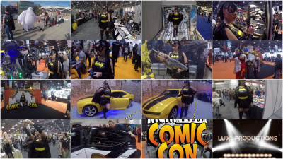 Join in at London's Comic Con full hd