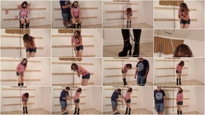 Rayna Vs. The Hanging Chain Ballgag Chains