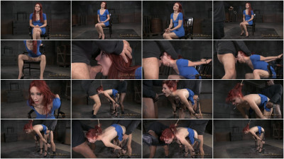 Violet Monroe - Pale redhead bent over and used hard by BBC (2015)