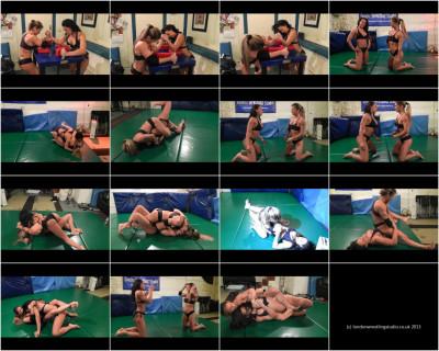 London Wrestling Studio - Maria Garcia Vs Laken