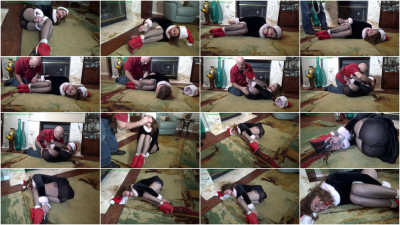 Hunterslair - Bailey Paige - Cute pixie left helplessly bound by the hearth