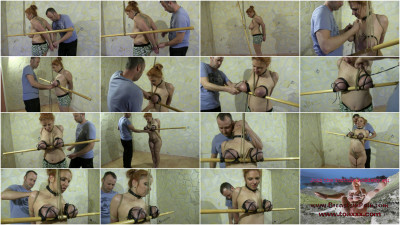 Bamboo and Rubber Breasts for Bettine — HD 720p