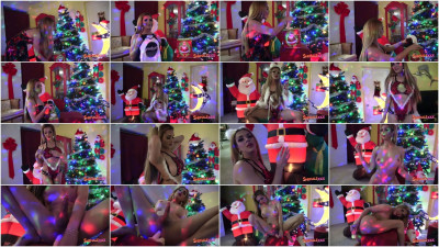 video tgirl horny (Jenna Tales / Christmas Come Early!).