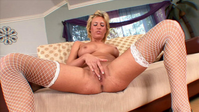 Download Blondie in stockings can you ask for more?