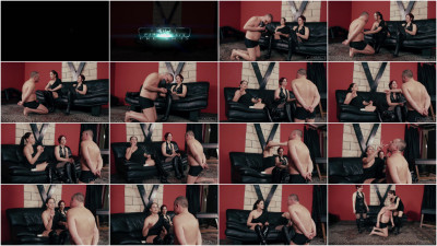 Mistress Anette & Mistress Maggie - Slapped Everywhere