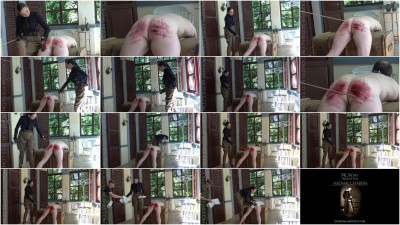 Madame Catarina - Safari Caning Scene 3