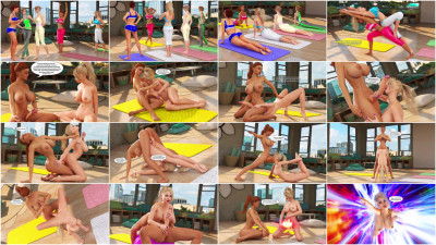 Yoga Class — Mental Expansion (Text) — Full HD 1080p