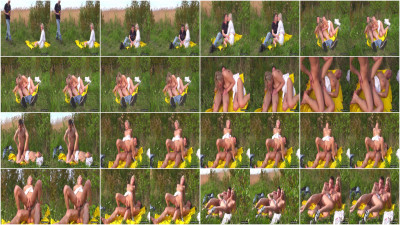 Sex picnic with nubile blonde 3D
