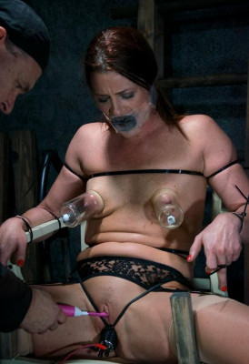 Cici bound and gagged
