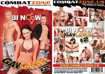Download Combat Zone - Bi Now, Gay Later vol2 (2010)