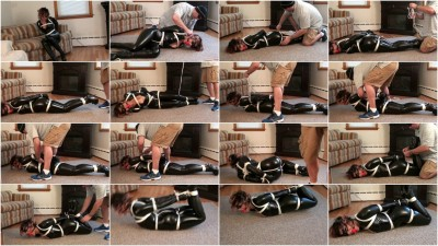 Enchantress Sahrye - Catwoman Gets Hogtied