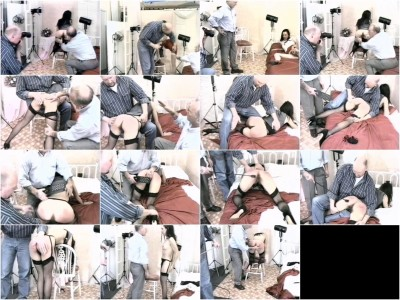 Camera club caning - camera, video, spanking, raven