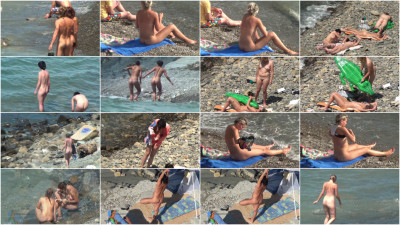Real nude beaches voyeur shots