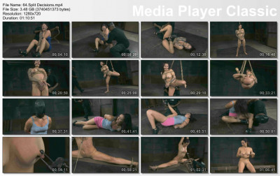 Split Decisions - Karmen Karma , HD 720p - humiliation, spa, media video, online, spanking