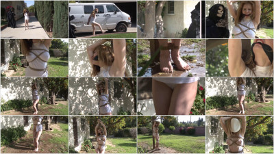 Tight bondage, domination and strappado for horny blonde HD 1080p