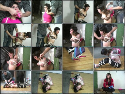 Petite and Busty, Cupcakes is Hogtied — Scene 2