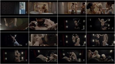 Sensual Hungarian babe Zazie Skymm enjoys bondage fetish sex session